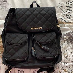 Black Michael Kor Backpack